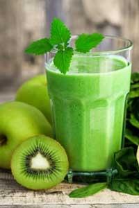 Entsafter Test Rezept Apfel Kiwi Saft