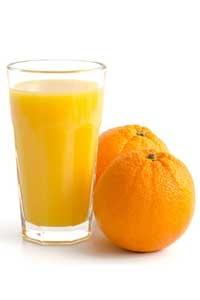 Entsafter Test Rezept Orangensaft