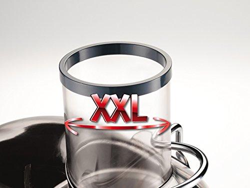 Moulinex JU655H Entsafter Test Einfüllstutzen