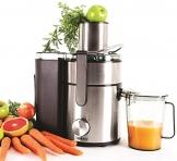 Duronic JE10 - Leistungsstarker 1000W Zentrifugen Entsafter für ganze Früchte - Inklusiver Saftkrug - 2 Jahre Garantie -