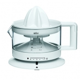 Braun CJ 3000 Tribute Collection Zitruspresse (20 Watt, 0,35 Liter) weiß -