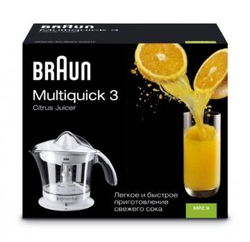 Braun MPZ9 Multiquick 3 Citrus Juicer Saftpresse (20 Watt, 1,4 Kg) -