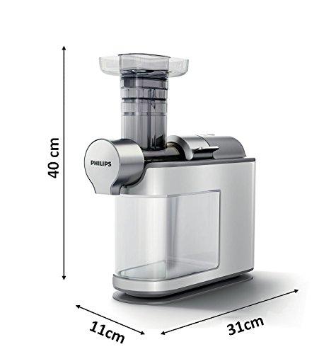 Philips HR1945/80 Slow Juicer weiß Maße Test
