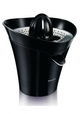 Philips HR2752/90 Essential Zitruspresse (85 Watt, Tropfstopp-Funktion) schwarz -